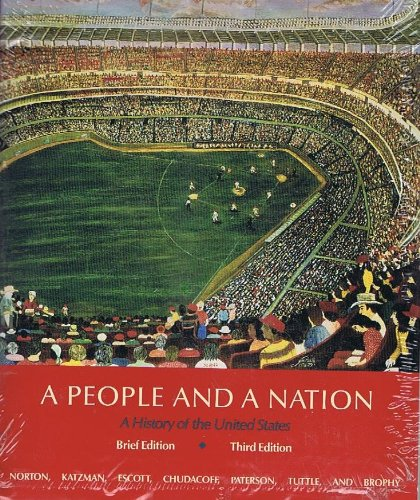 9780395701478: A People and a Nation: A History of the United States/With Atlas of American History