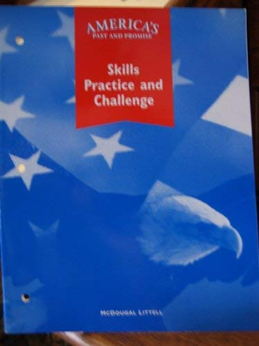 9780395707623: America's Past and Promise Skills Practice and Challenge.