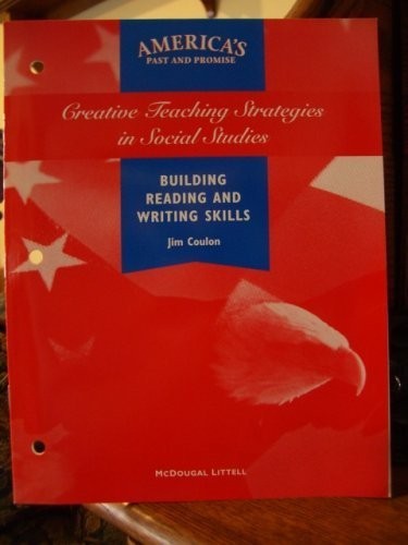 America's Past and Promise Creative Teaching Strategies: Jim Coulon.