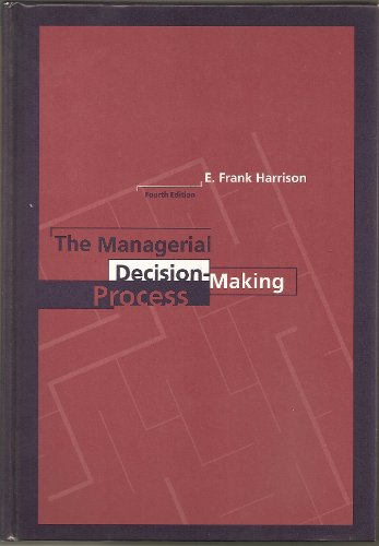 9780395708378: The Managerial Decision-making Process