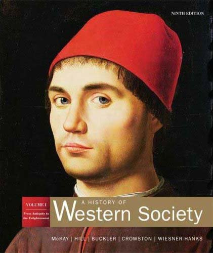 9780395708422: History of Western Society: From Antiquity to the Enlightenment