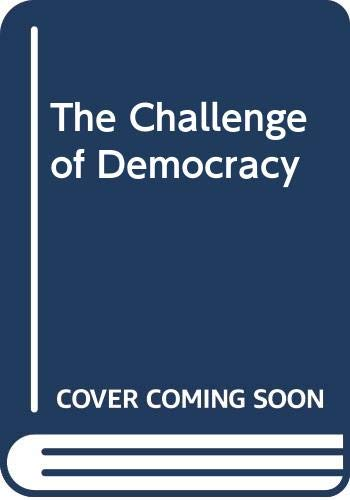 The Challenge of Democracy: Government in America (0395708826) by Kenneth Janda; Jeffrey M. Berry; Jerry Goldman