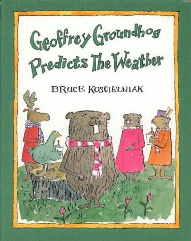 9780395709337: Geoffrey Groundhog Predicts the Weather