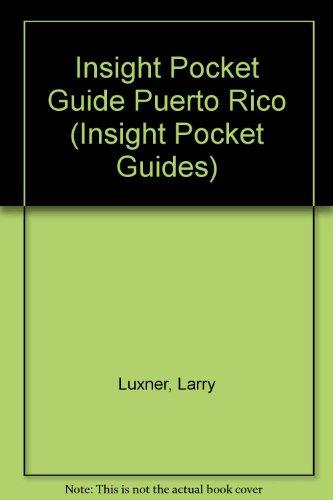 9780395710593: Insight Pocket Guide Puerto Rico (Insight Pocket Guides)