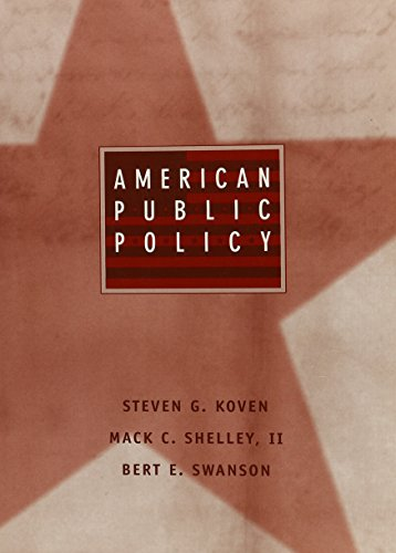 9780395713884: American Public Policy: The Contemporary Agenda