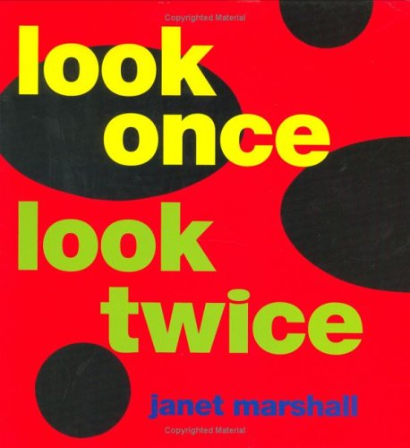 Look Once, Look Twice: Marshall, Janet Perry