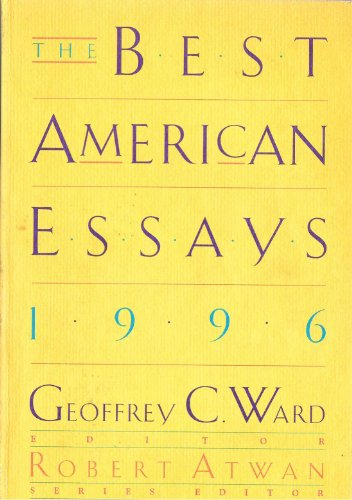 9780395717561: Best American Essays 1996