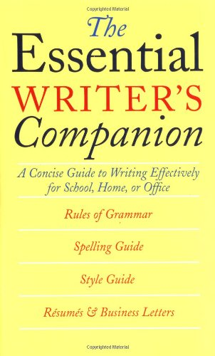 The Essential Writer's Companion : A Concise: Houghton Mifflin Company