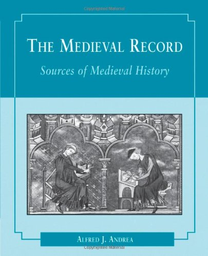 9780395718629: The Medieval Record