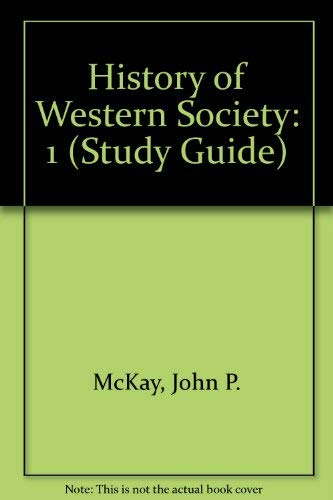 9780395718964: History of Western Society (Study Guide)