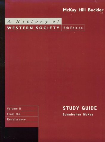 9780395718971: History of Western Society (Study Guide)