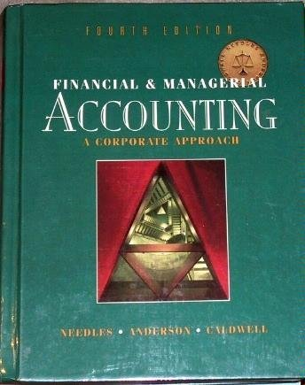 9780395722213: Financial and Managerial Accounting