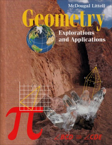 9780395722855: Geometry: Explorations Applications