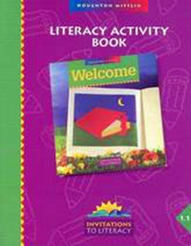 9780395724859: Imagine: Literacy Activity Book (Invitations to Literacy) Grade 4