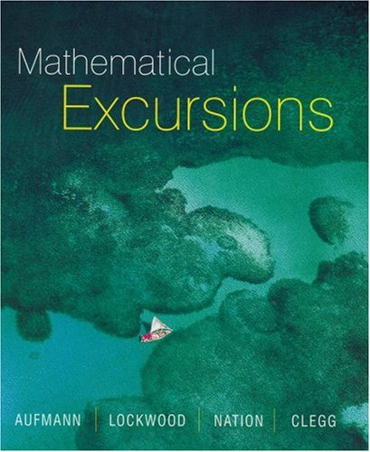 9780395727799: Mathematical Excursions