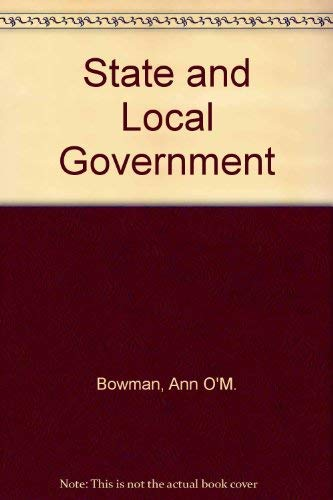 9780395730416: State and Local Government: Third Edition