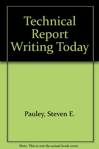 9780395730522: Technical Report Writing Today