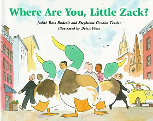 9780395730928: Where Are You, Little Zack?