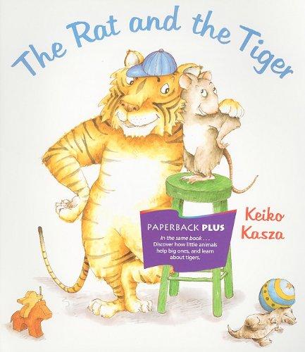 9780395732175: Houghton Mifflin Invitations to Literature: Readers Paperback Level 1.4 Rat & Tiger (Invitations to Lit 1996)