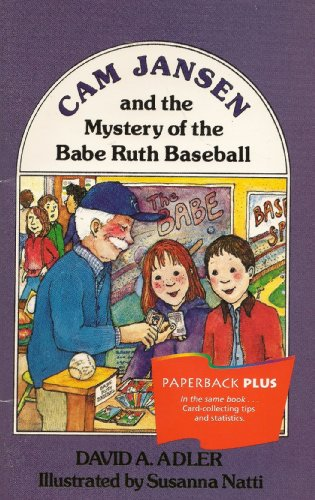 9780395732298: CAM Jansen and the Mystery of the Babe Ruth Baseball (Cam Jansen Adventure)