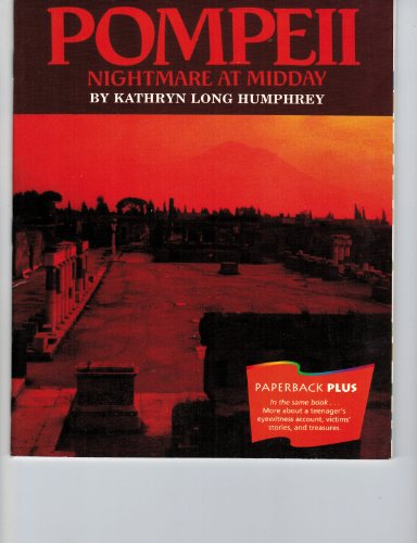 9780395732656: Pompeii: Nightmare at Midday