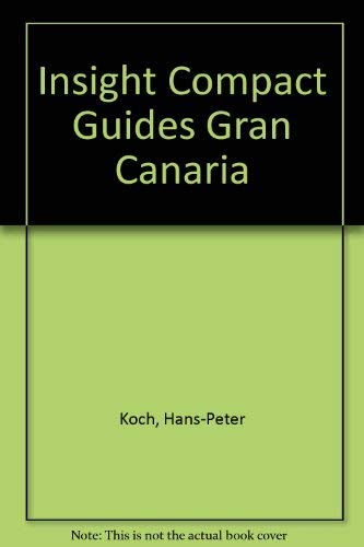 9780395734414: Insight Compact Guides Gran Canaria