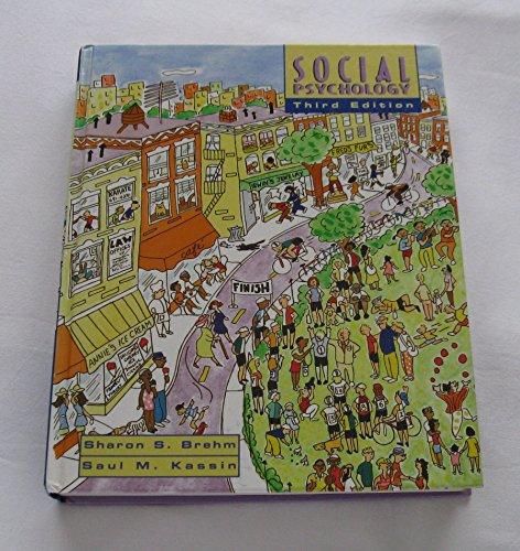Social Psychology, 3rd Edition: Brehm