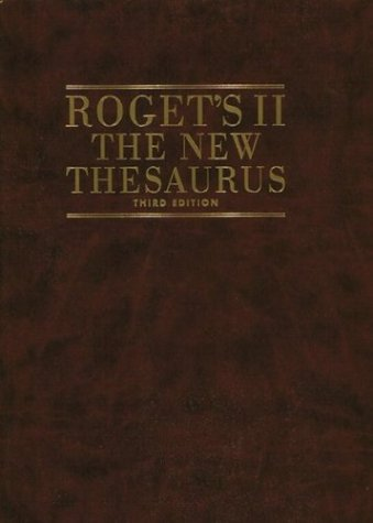 9780395736791: Roget's II: The New Thesaurus