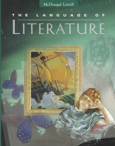 9780395737019: McDougal Littell Language of Literature: Student Edition Grade 6 1997