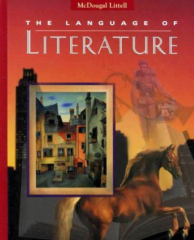 9780395737033: McDougal Littell Language of Literature: Student Edition Grade 8 1997