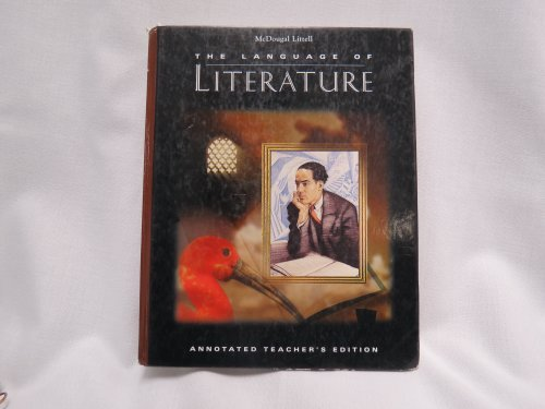 9780395737118: McDougal Littell The Language of Literature Annotated Teacher's Edition Grade 9