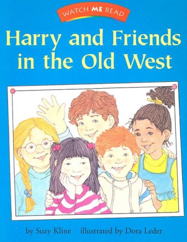 9780395740606: Harry and Friends in the Old West (Watch me read)