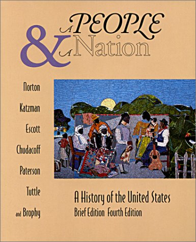 9780395741580: A People and a Nation: A History of the United States