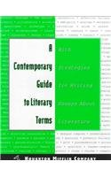 9780395742051: A Contemporary Guide to Literary Terms