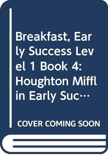 Breakfast, Early Success Level 1 Book 4: Judith Womersley