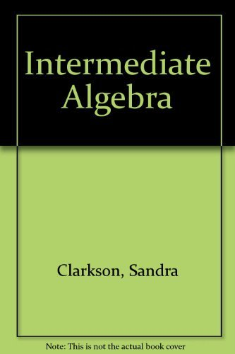 9780395744253: Intermediate Algebra