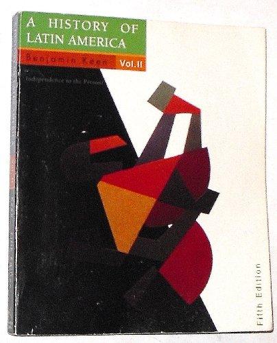 9780395744574: A History of Latin America: v. 2