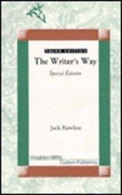 9780395745335: The Writer's Way