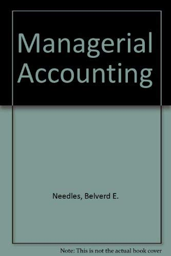 9780395745670: Managerial Accounting
