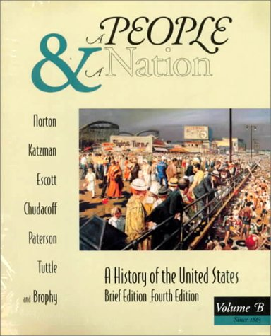 9780395745700: A People and a Nation: A History of the United States, Brief, Volume B : Atlas of Amrican History