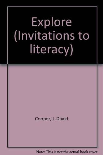 9780395747636: Explore (Invitations to literacy)