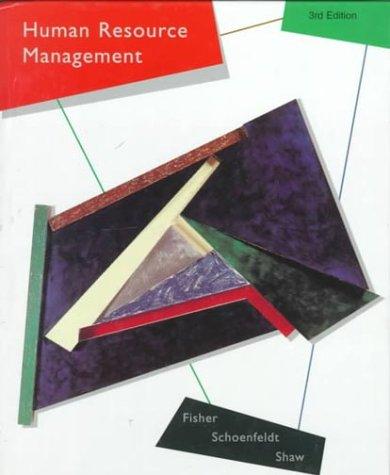 9780395748862: Human Resource Management