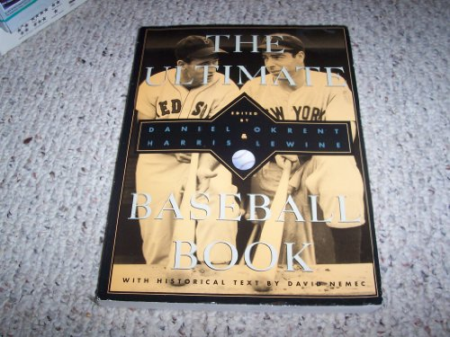 The Ultimate Baseball Book (9780395749074) by David Nemec