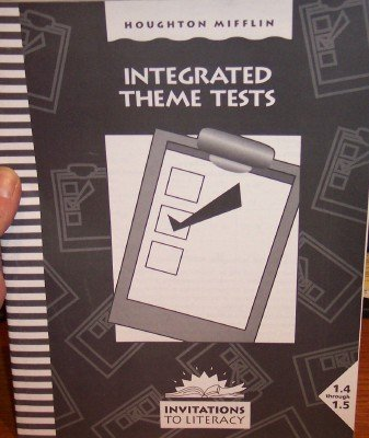 9780395749753: Houghton Mifflin Invitations to Literature: Integrated Theme Tests Single Level 1.4-1.5