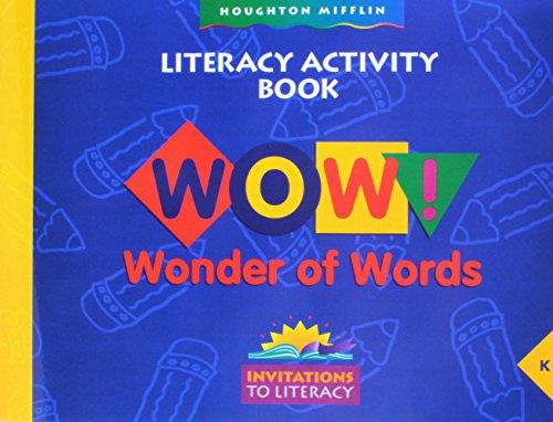 9780395750322: Houghton Mifflin Invitations to Literature: Rd Lit Activity Book Lv K -Imp