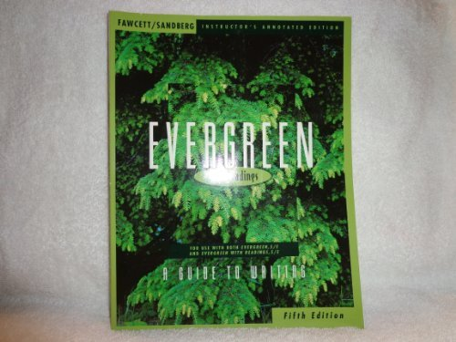 9780395750353: Evergreen: A Guide to Writing