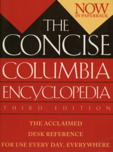 9780395751848: The Concise Columbia Encyclopedia: Third Edition