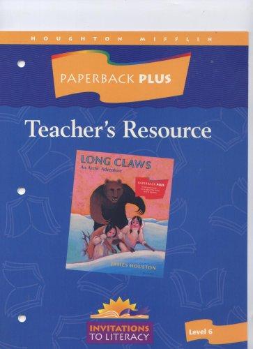 Paperback Plus Teacher's Resource Guided Reading Long: James Houston