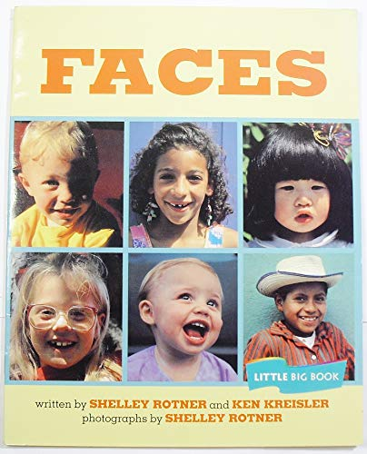 9780395752562: Faces, Read Little Big Book Level K: Houghton Mifflin Invitations to Literature (Invitations to Lit 1996)