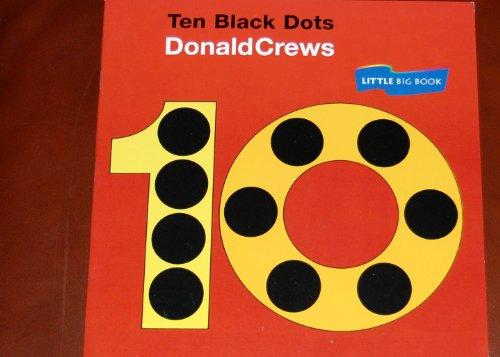 9780395752609: 10 Black Dots, Read Little Big Book Level K: Houghton Mifflin Invitations to Literature (Invitations to Lit 1996)